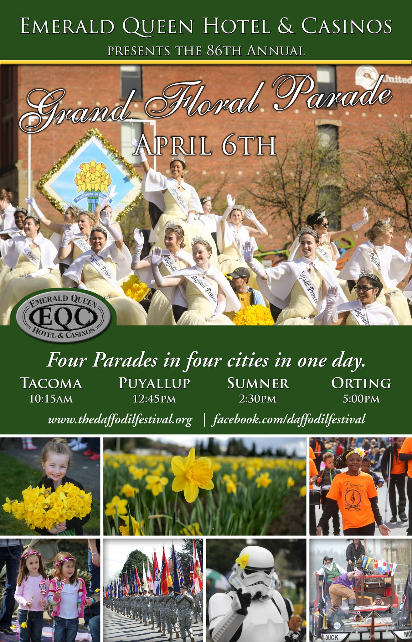 Image from    The Daffodil Parade