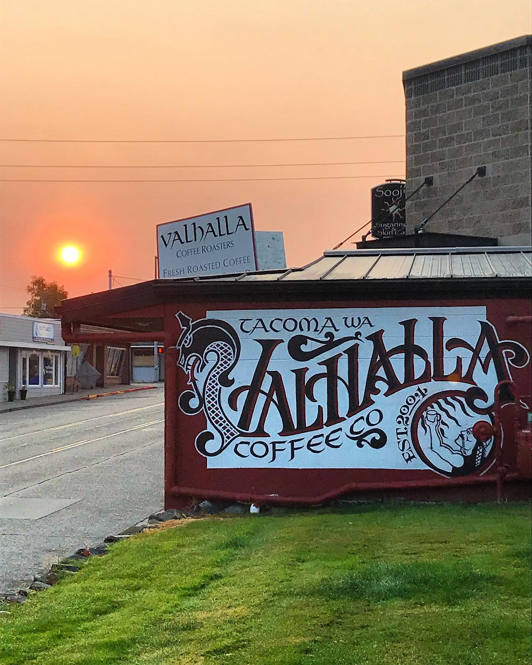 Image from    Valhalla Coffee Co.     Just 1/2 a mile from the door of 1310 S Proctor.