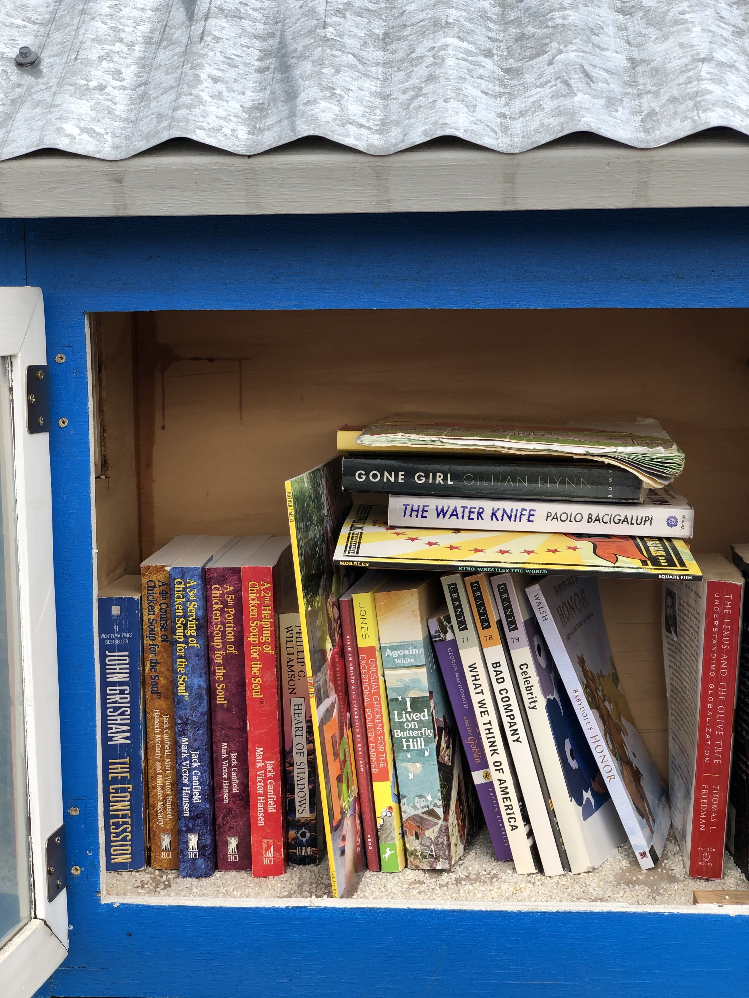 Help us stock the Emergency Food Network Branch with all kinds of good books! Read about our book drive below.