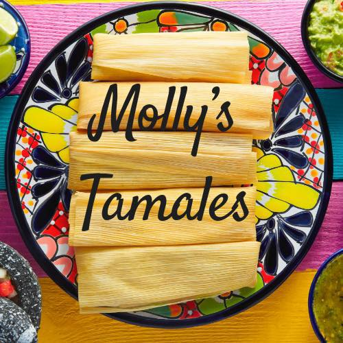 Images from    Molly's Tamales