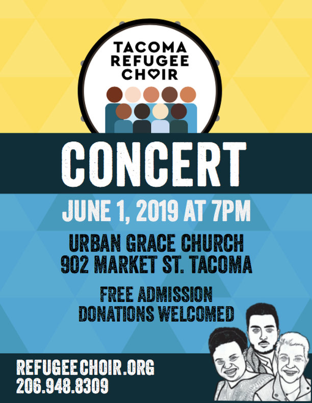 Image from  Tacoma Refugee Choir