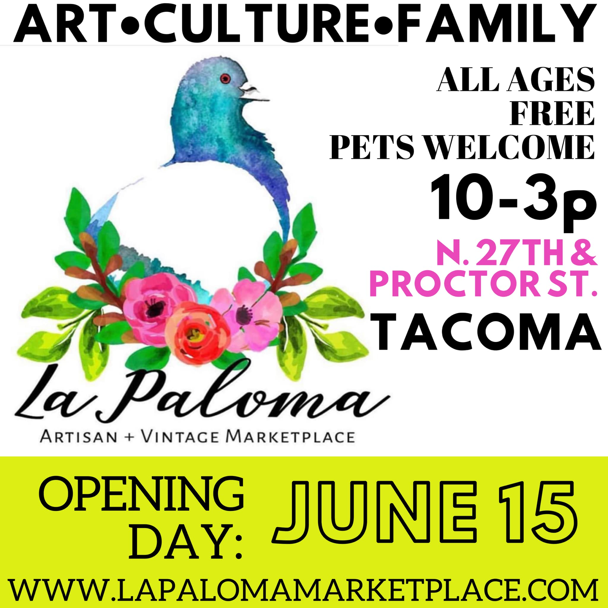 Image from  La Paloma Marketplace