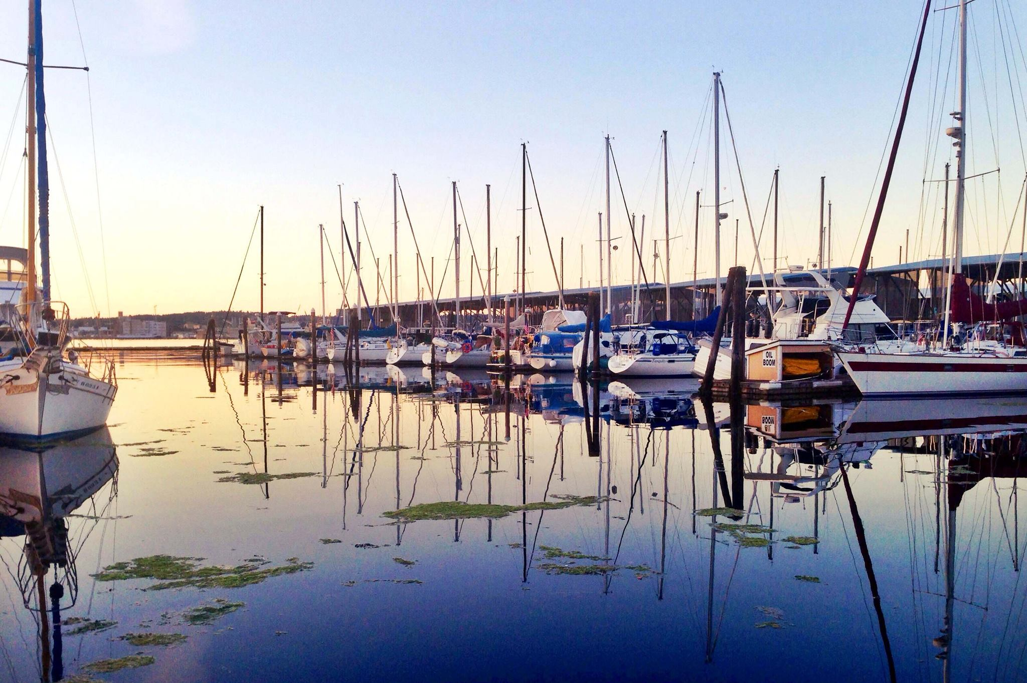 Image from the    Port Orchard Marina    -  The marina is on Sinclair Inlet in Port Orchard, just 4 miles away.