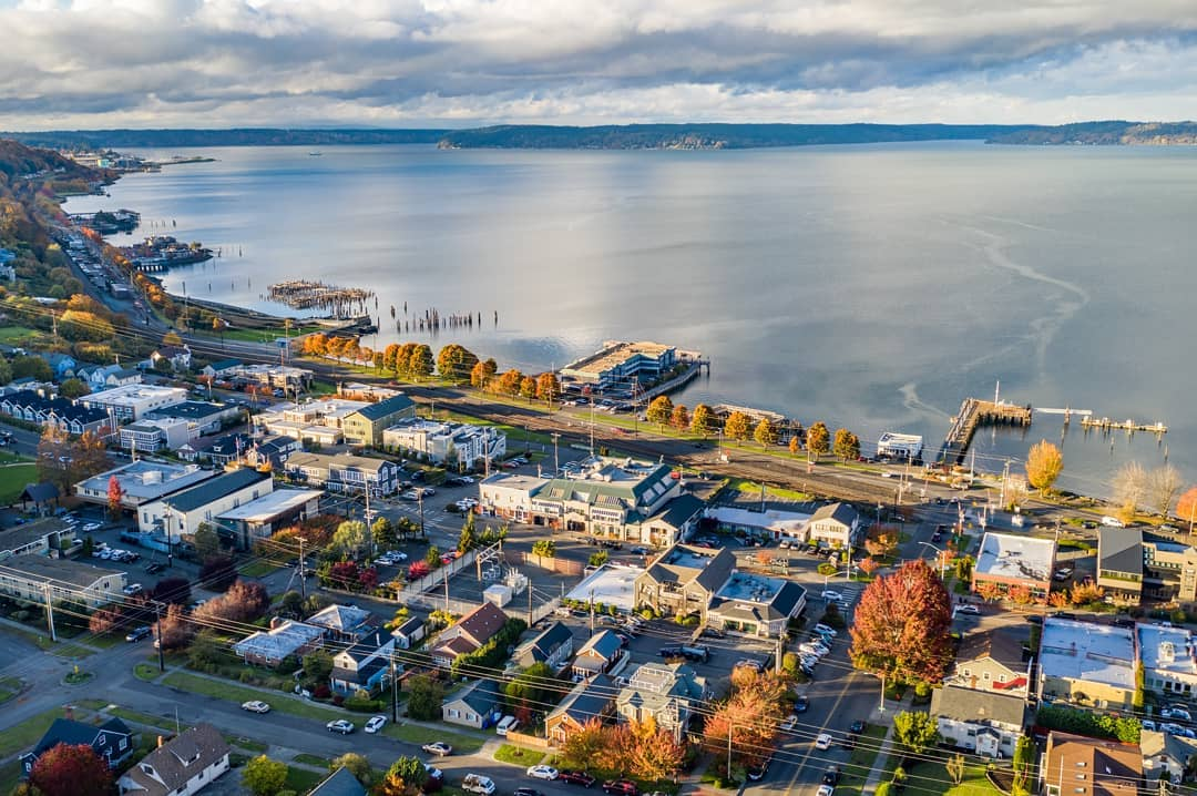 Image from    Over Tacoma   - The Old Town Dock is just 1 mile down the hill from 1011 N K St.