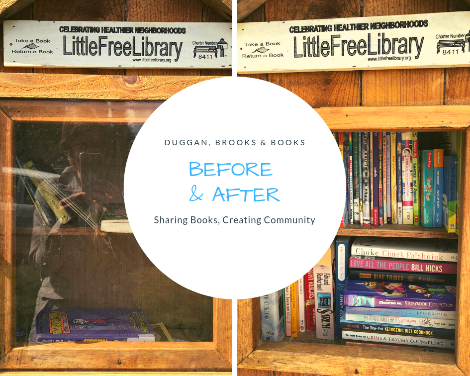 Part of our project has been taking your book donations straight to libraries on streets that don't have a Tacoma Public Library branch nearby. Thanks for all your book donations!