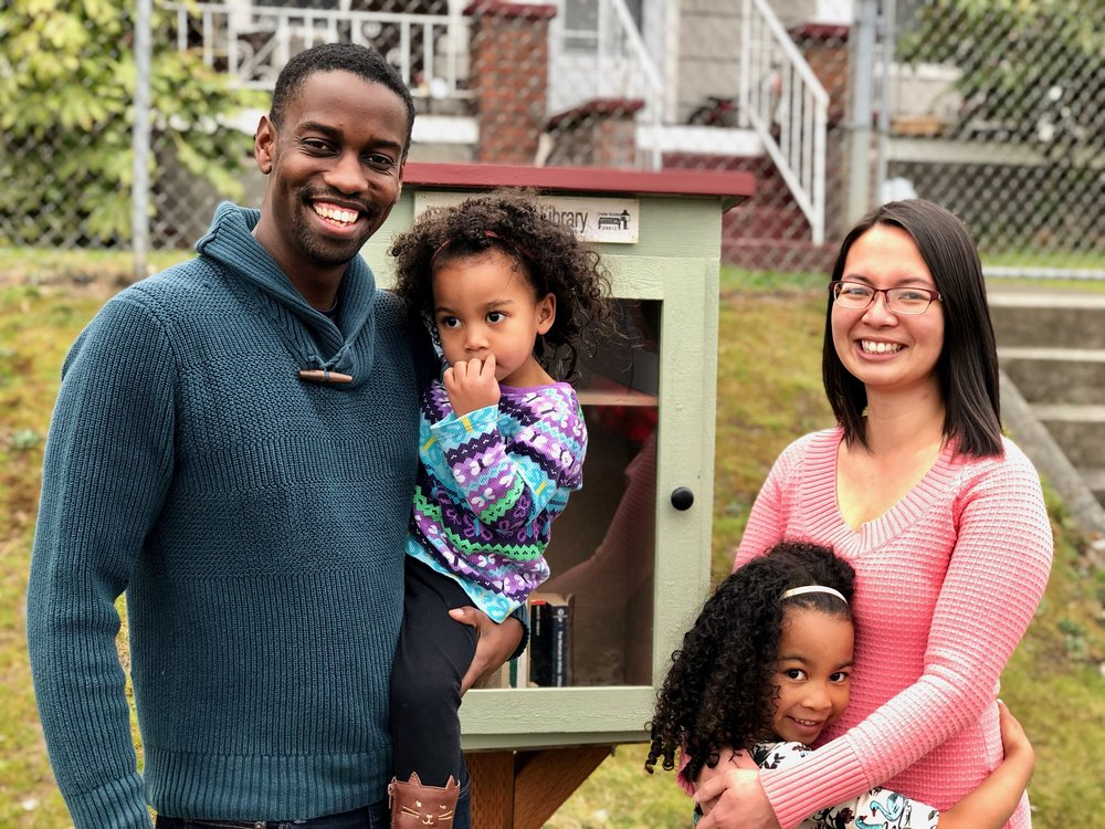 This is the fifth in our series of articles lifting up Little Free Libraries in Tacoma. If you missed our first articles about  Melo and her Eastside library ,  Leigh and the Cushman Branch ,  Julia and the M Street Library  (shown above), or the  Emergency Food Network's Little Free Library  you can still read them on our  Tacoma blog !
