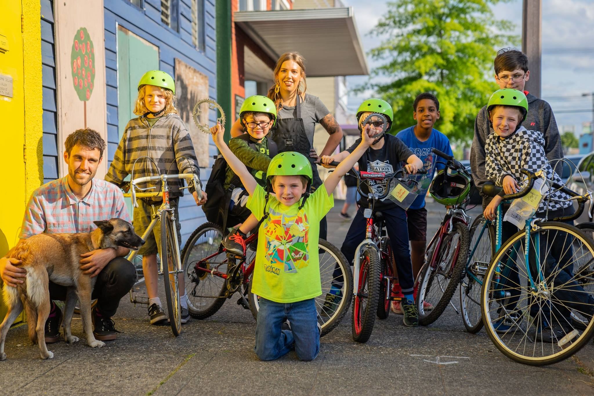 Image from   2nd Cycle Tacoma's Community Cycle Center