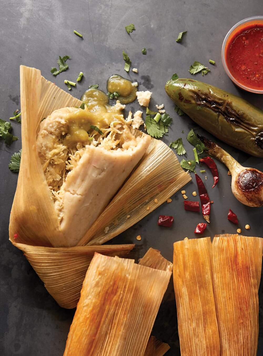 Image from   Molly's Tamales