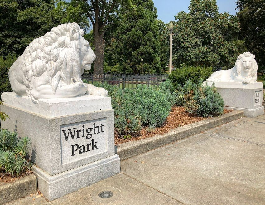 Wright Park - 0.7 miles away with walking paths, a botanical conservatory, playground, spray ground, annual festivals, lawn bowling court, and a wide array of trees.
