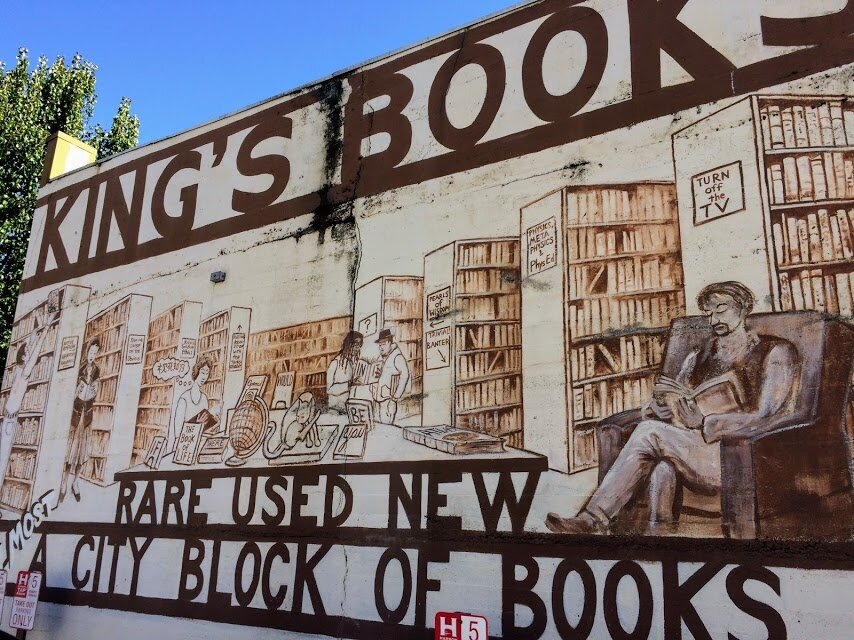 King's Books, one of Tacoma's most beloved book stores, is a walkable 1 mile away.