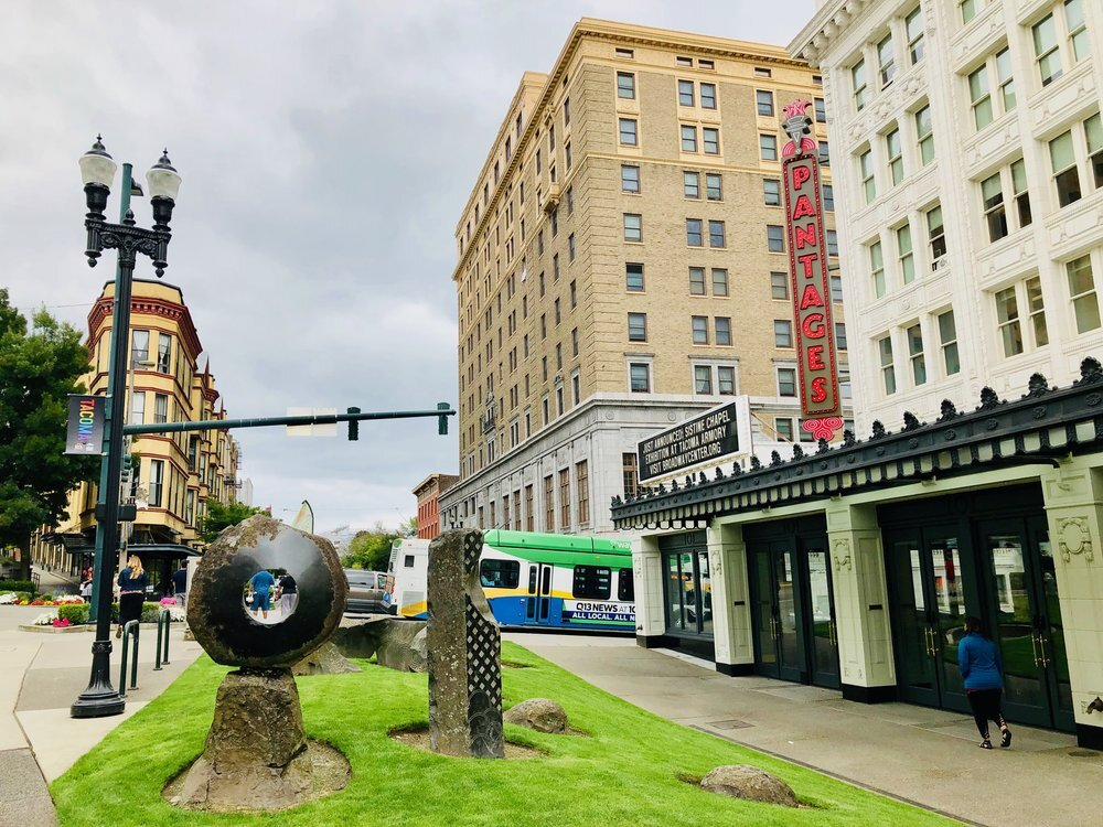 The Pantages Theatre - 1.5 miles from the door of 824 N M with live features from  Tacoma Arts Live  year round.