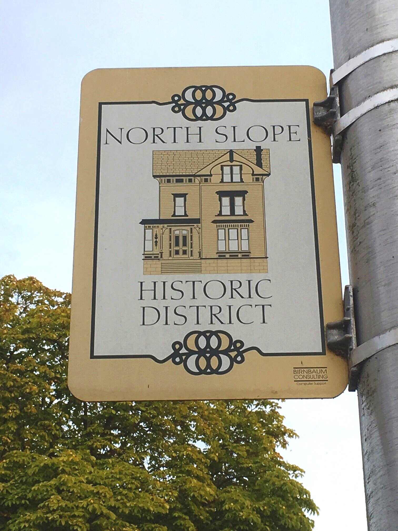 The North Slope Historic District is a wedge shaped neighborhood bordered by Stadium, Old Town, 6th Ave, and the 3 Bridges District. Walk any direction and you land in a good place!