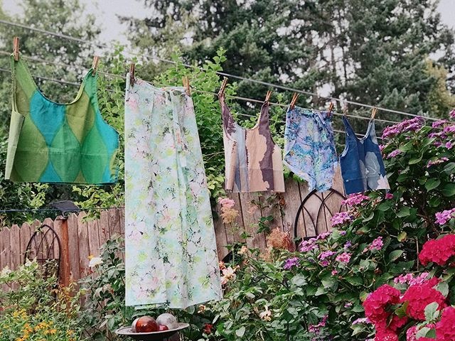 Only one more sleep until @portlandnightmarket 🌿 we are so excited for our summer line of sustainable handmade Wolf Den clothes to make their debut! We even have some brand new designs for you. Stop by our booth tomorrow or Saturday!
