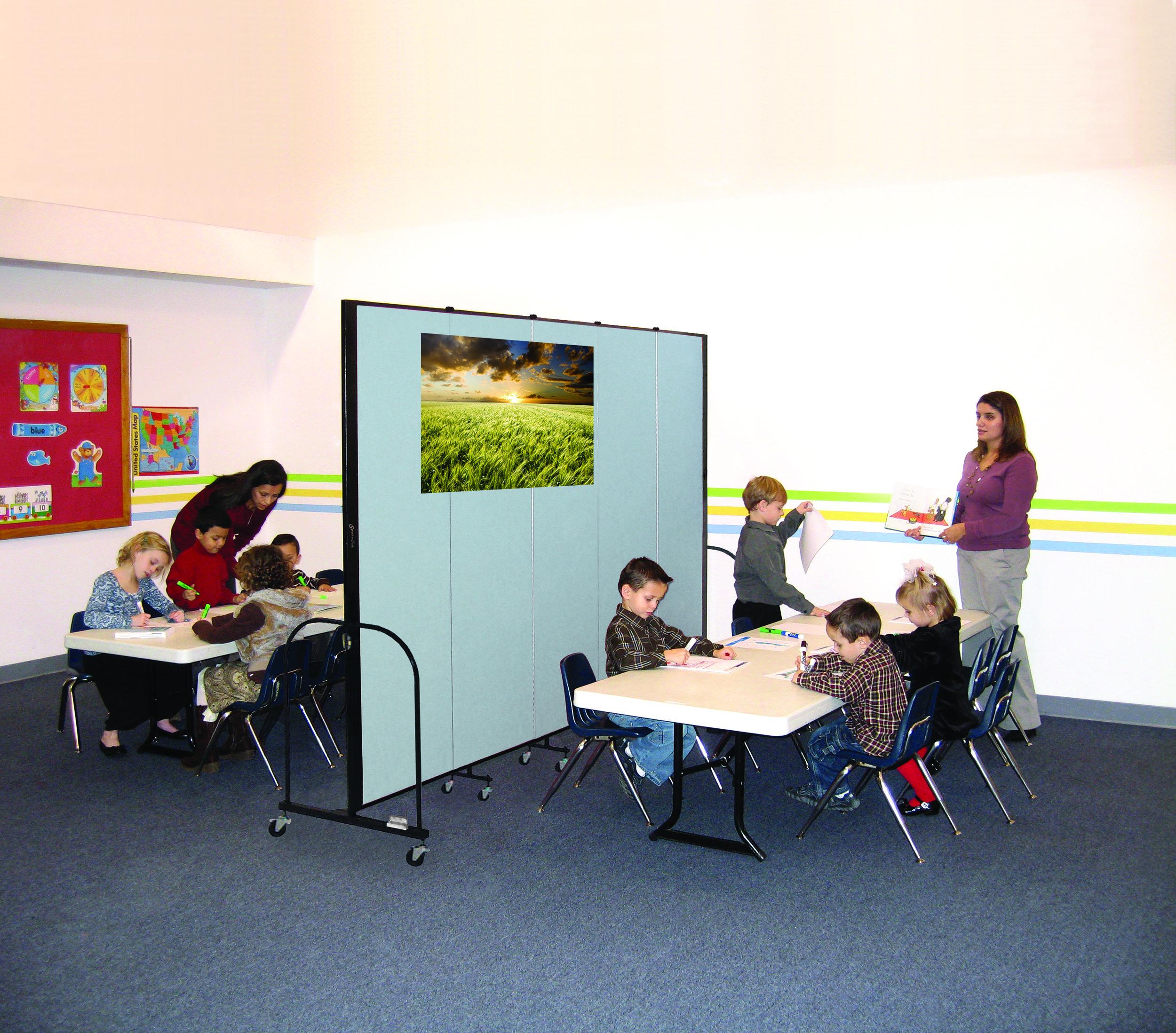 Screenflex for a Sunday School