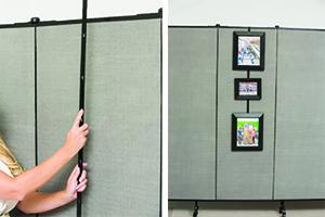 Screenflex Artwork Hanger