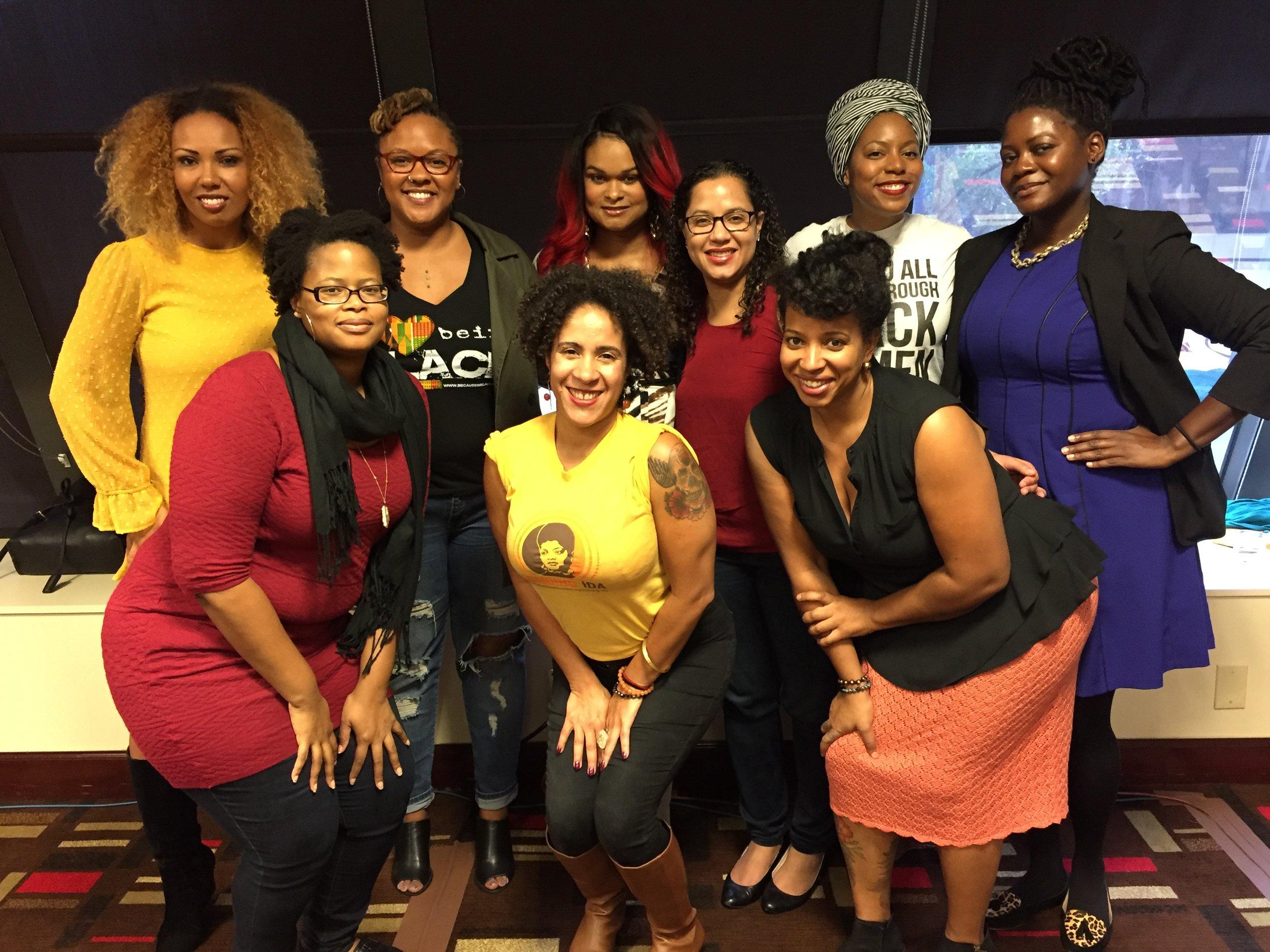 Gathered with social justice leaders at Facing Race in Atlanta, November 2016.