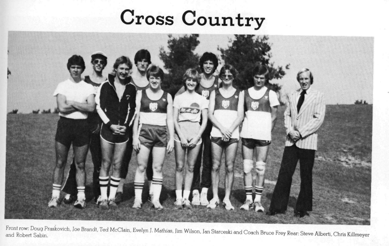 Back, center, isolated. (Source: 1983 yearbook)