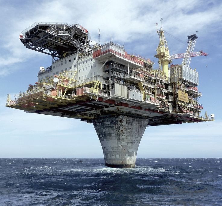 oil rigs / ocean platforms - how can I get on one?