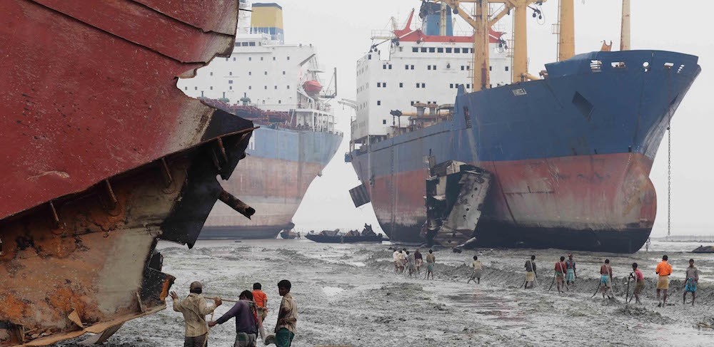 ship breaking  -