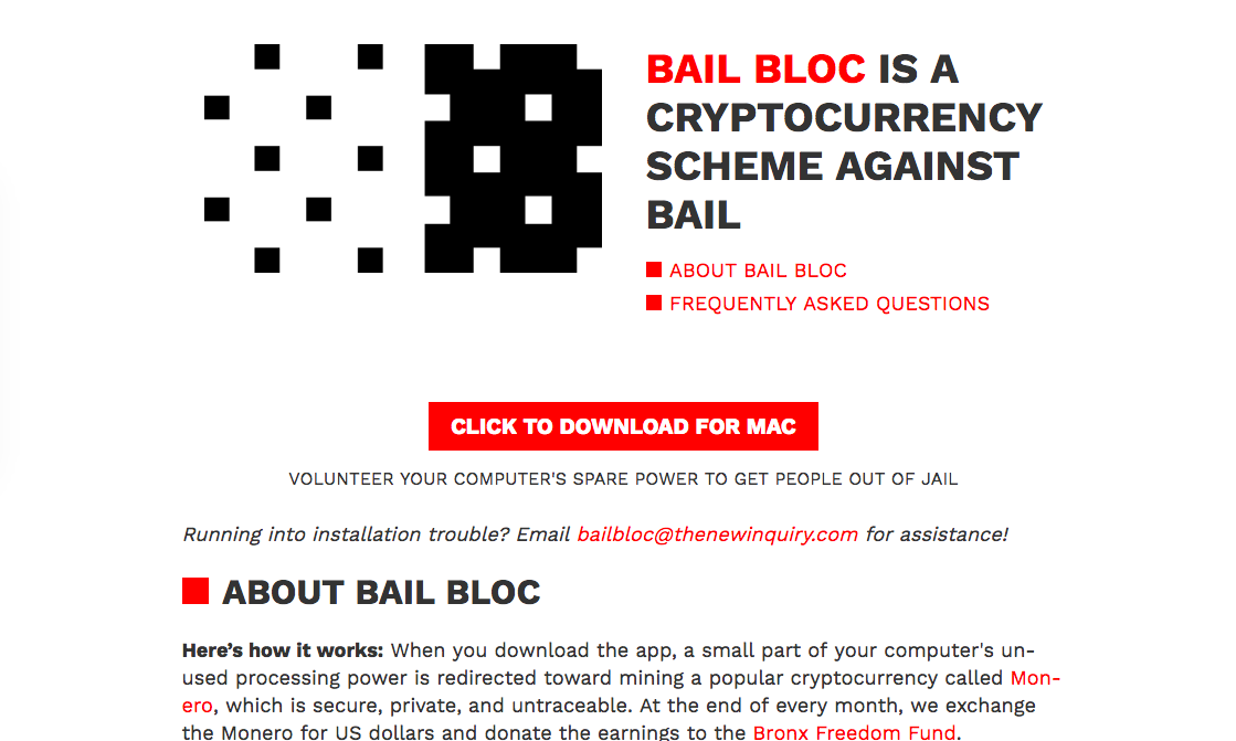 BAIL BLOC  - For the Bronx Freedom Fund