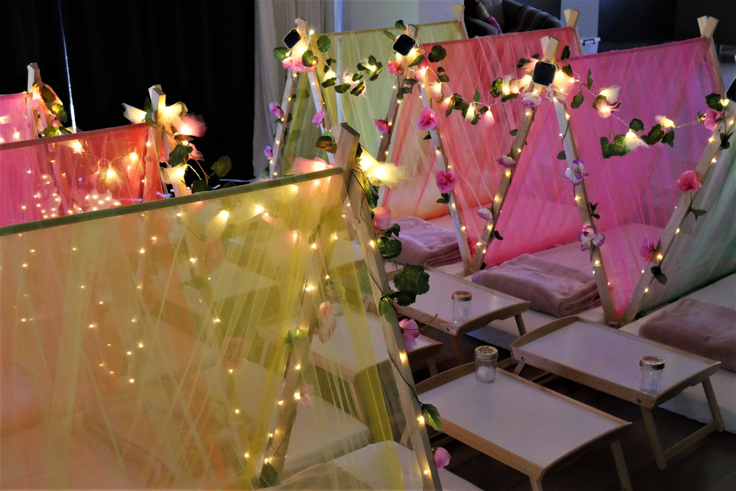 sorbet dreams sleepover party hire theme 1