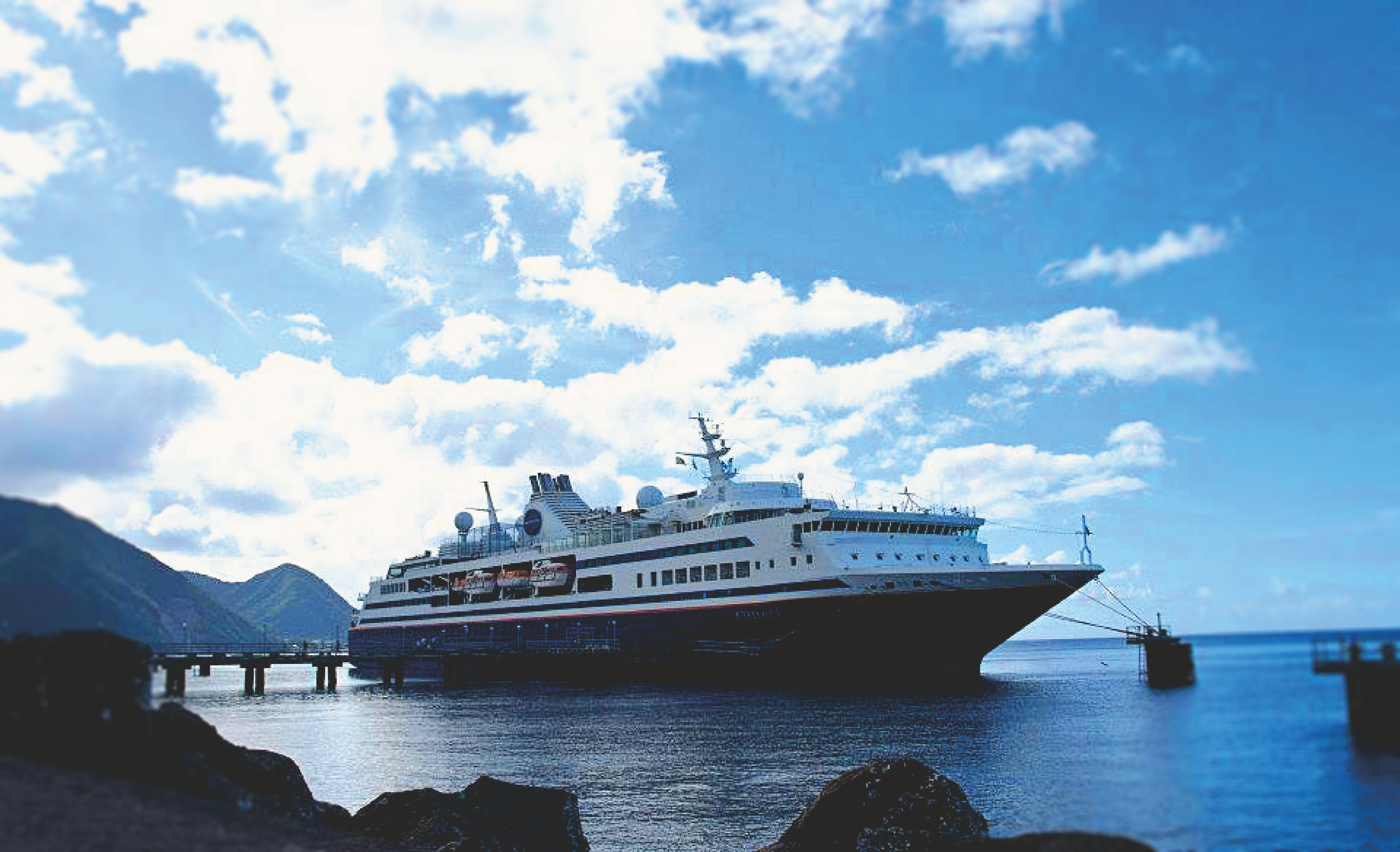 MV Explorer-- My home during my 2012 travels.
