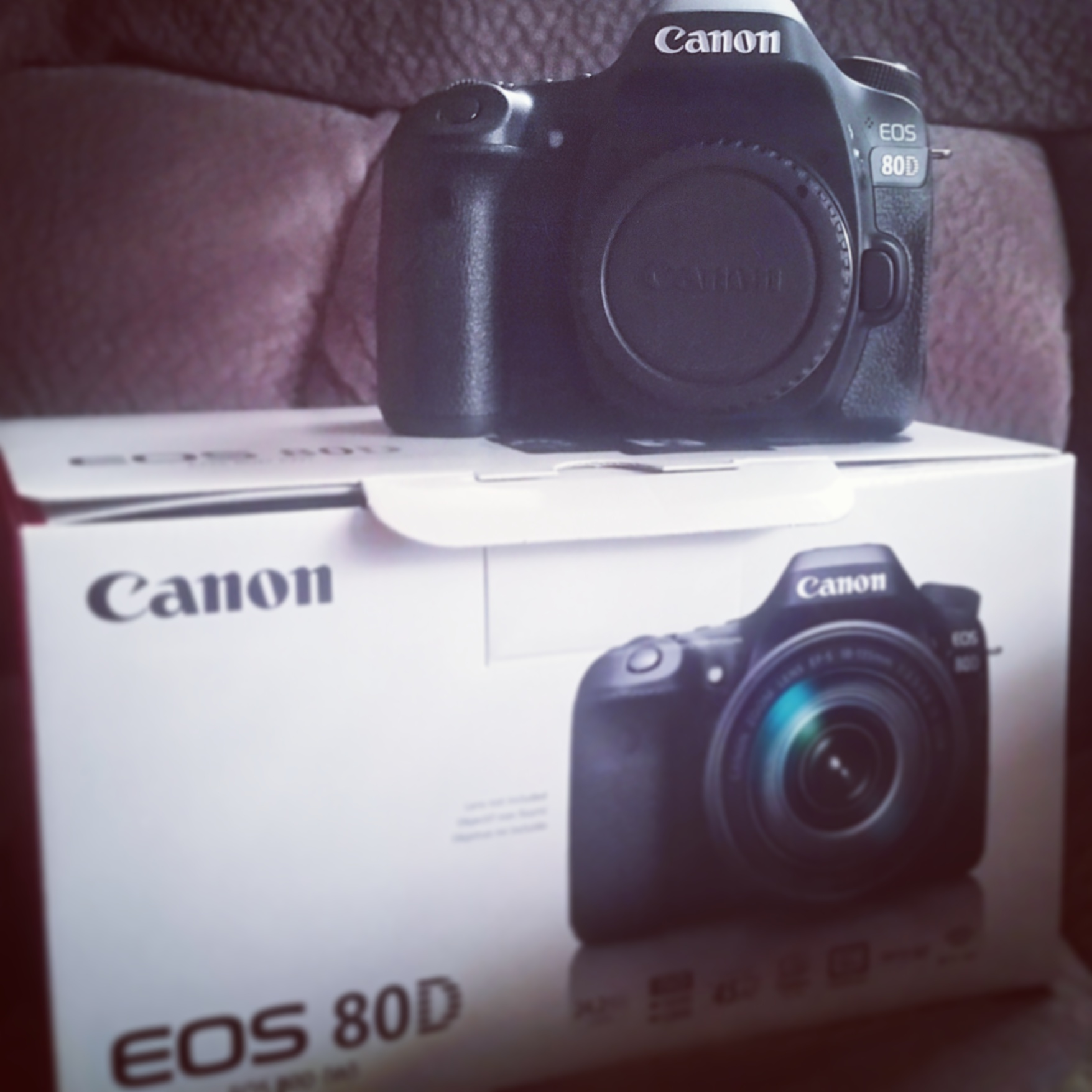 My new canon 80d
