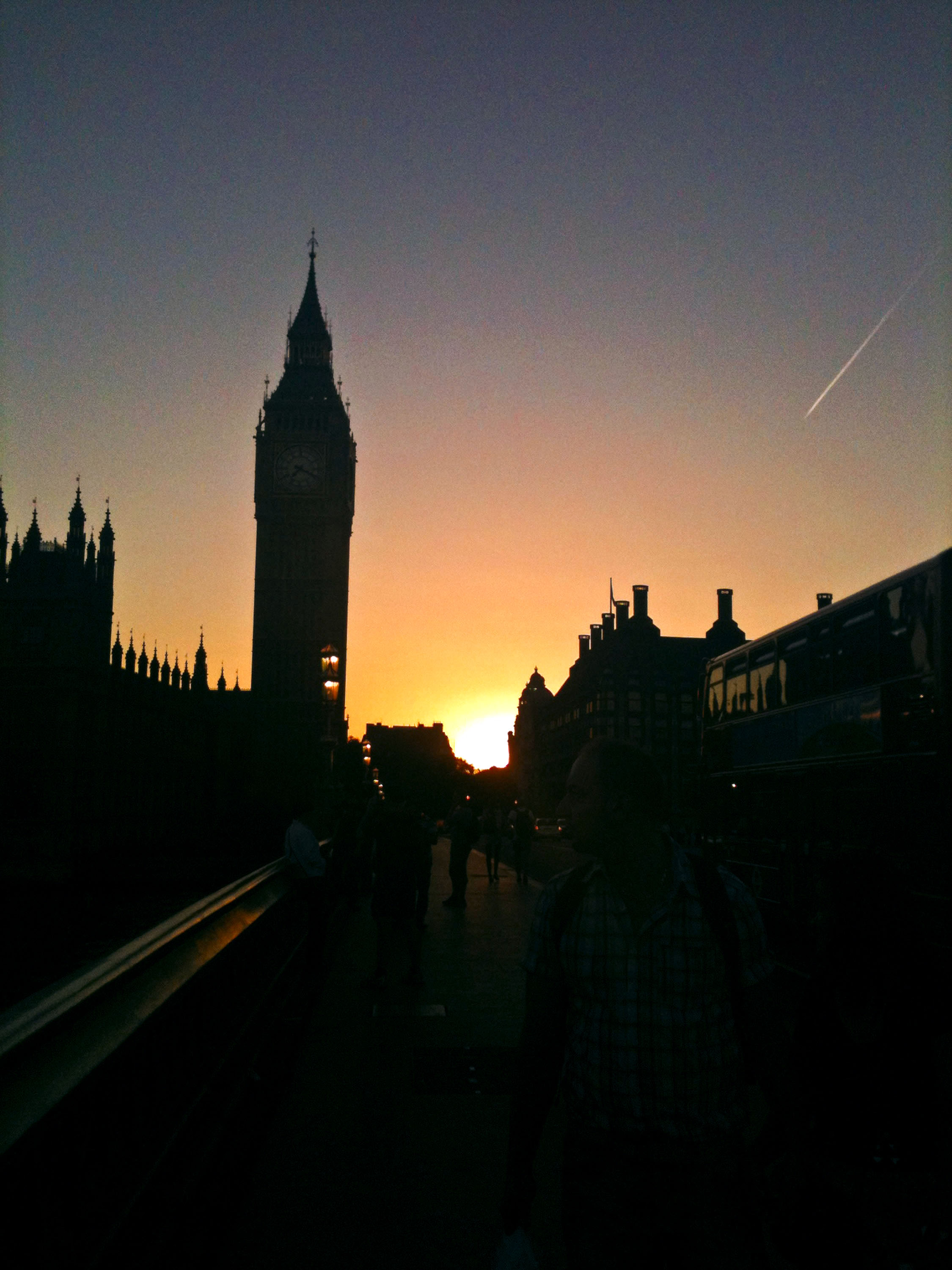 England by Sunset
