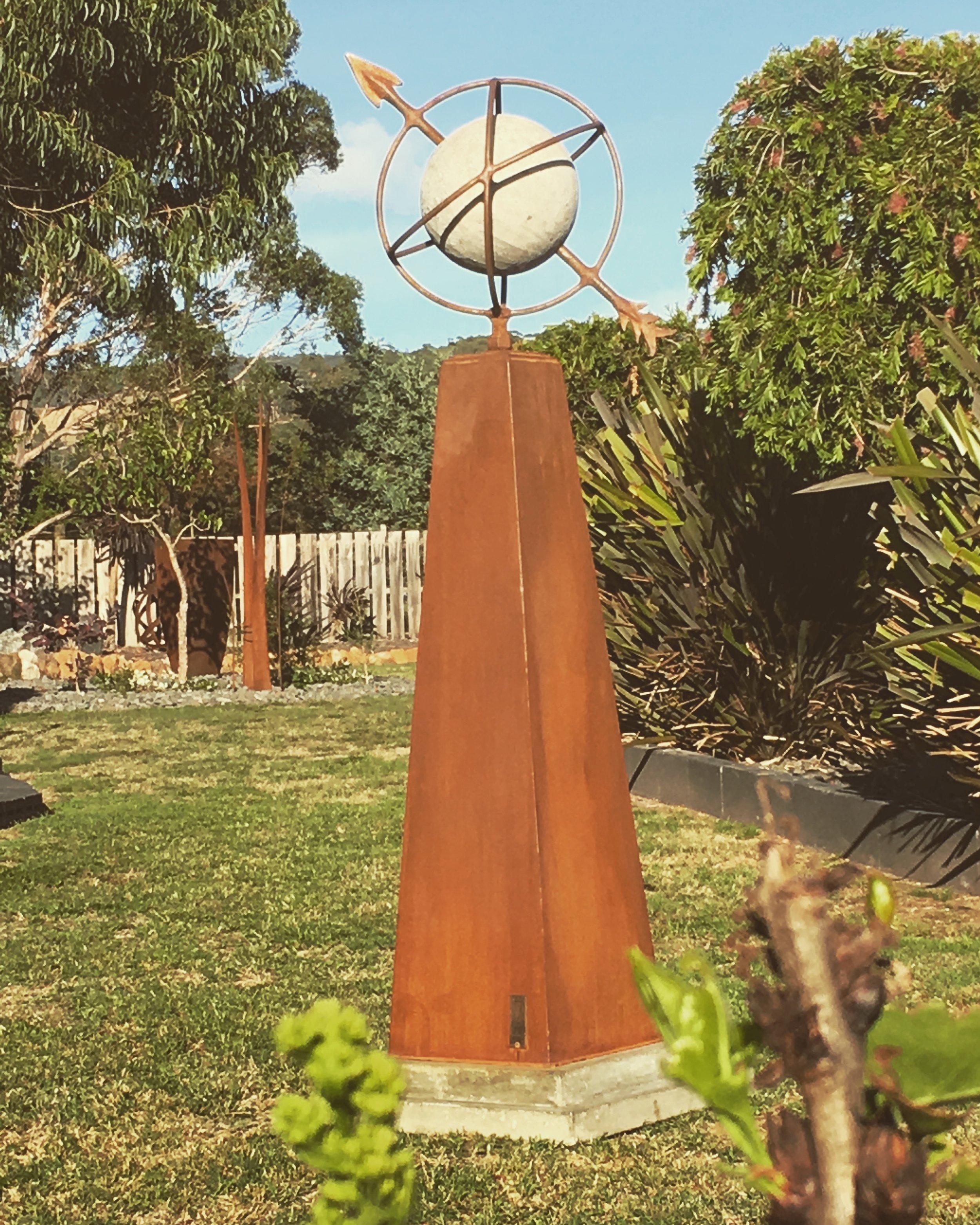 Concrete sphere/arrow/rings
