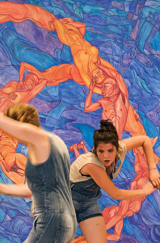 Performance at NOoSPHERE Arts, NYC