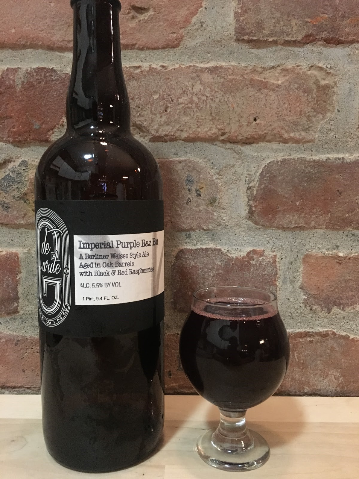 5. de Garde Brewing - Imperial Purple Raz Bu