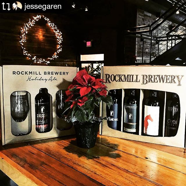 · · · Need an idea for a Christmas gift?! Come and see us for our limited edition Holiday Ale gift set or a suitcase of beer! ------ #Repost @jessegaren Made by @Image.Downloader
