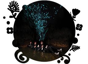 InterCity Waitomo Black Water Rafting Labyrinth  - Partner company tour