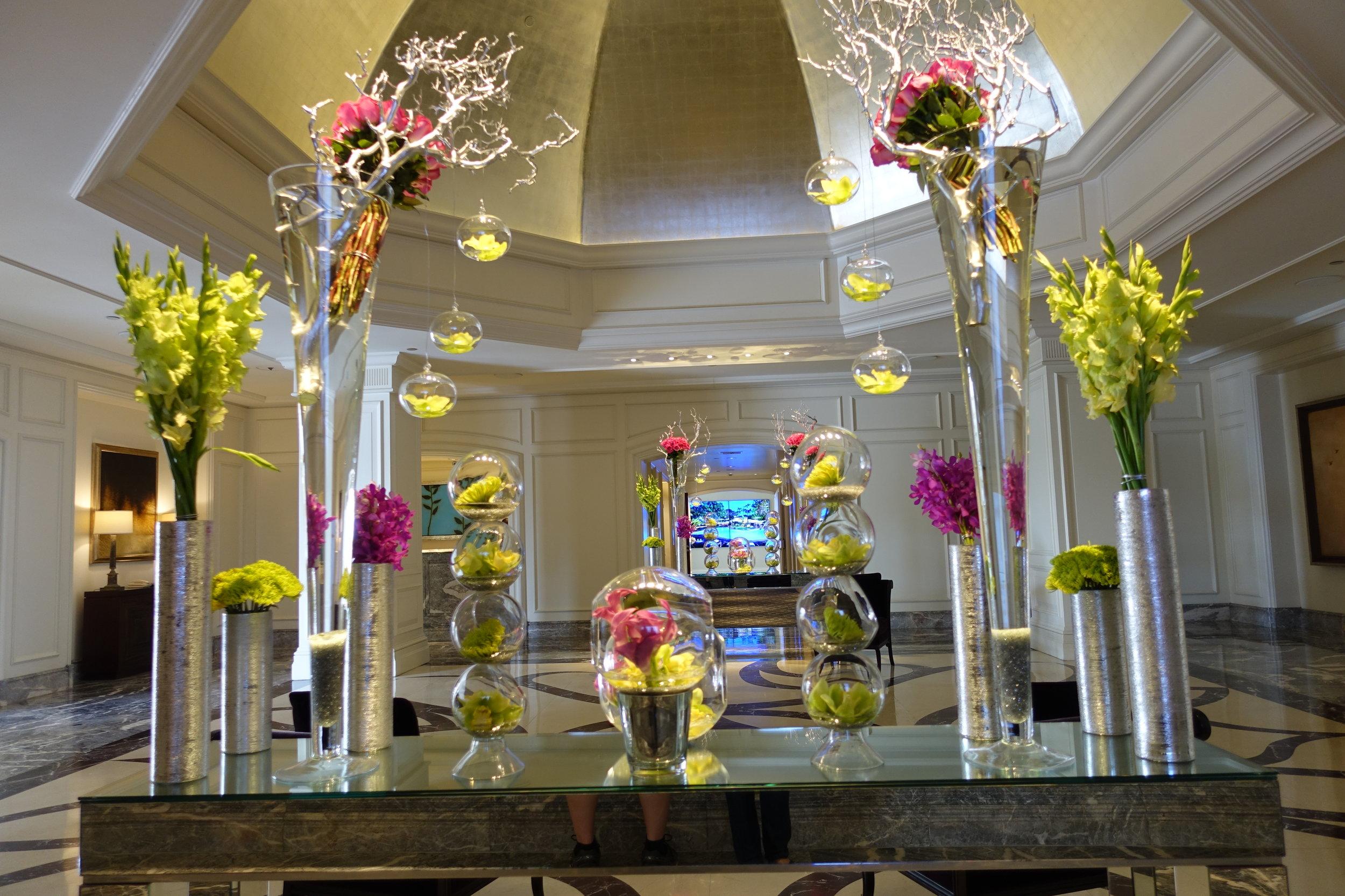 Ritz-Carlton Laguna Nigel lobby