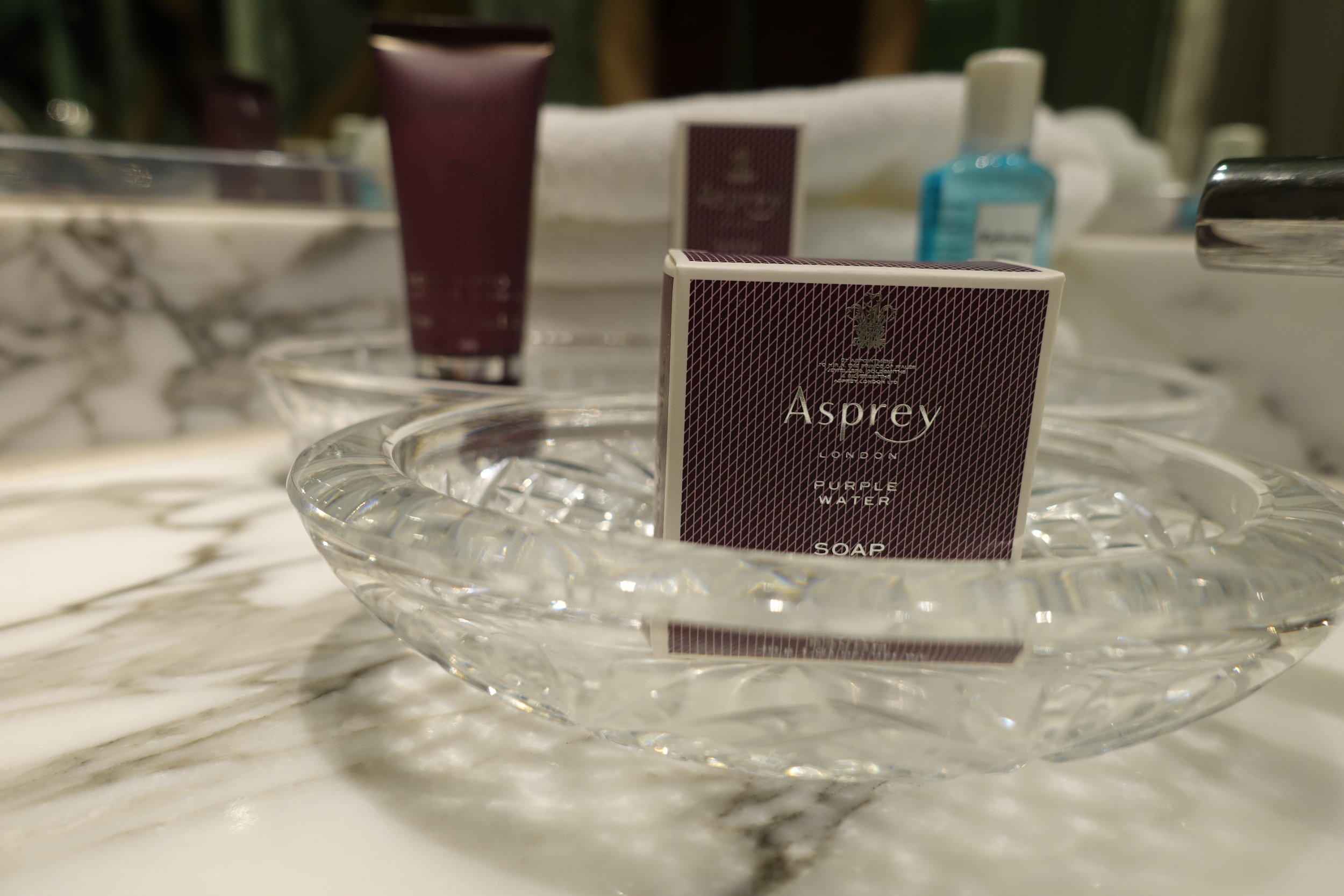 Asprey amenities