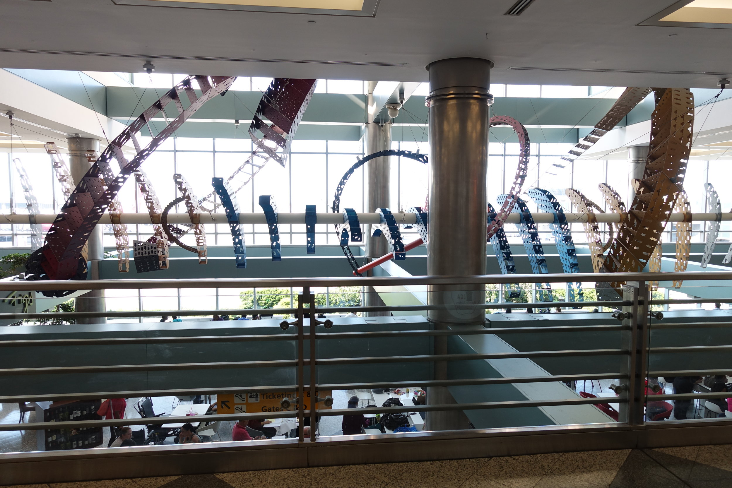 The view between concourse B and C.