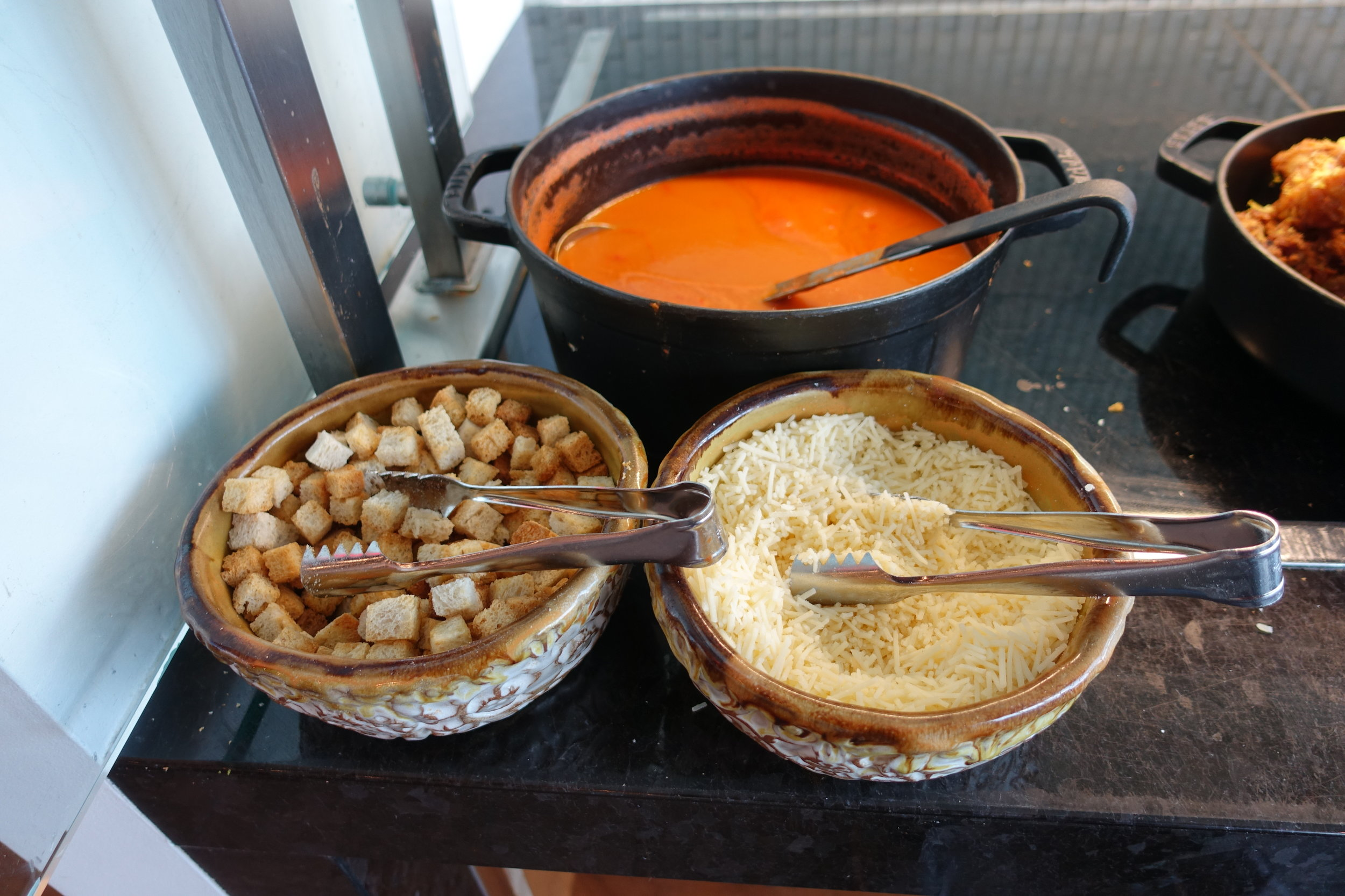 Tomato bisque station
