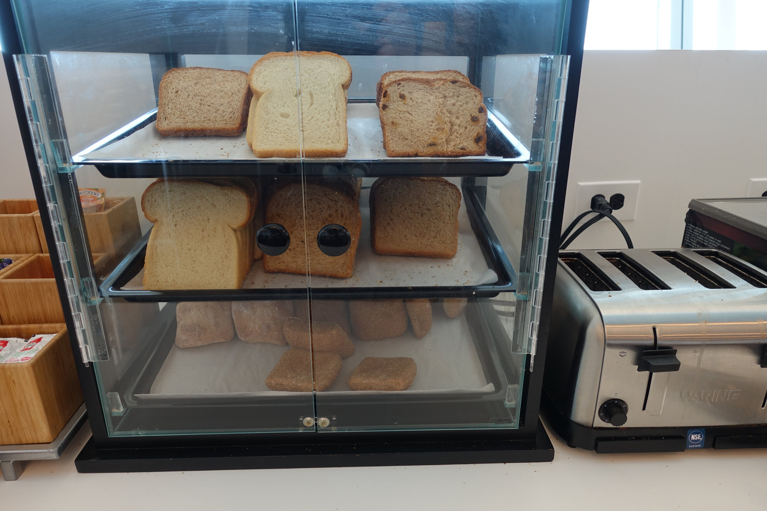 bread and toasters