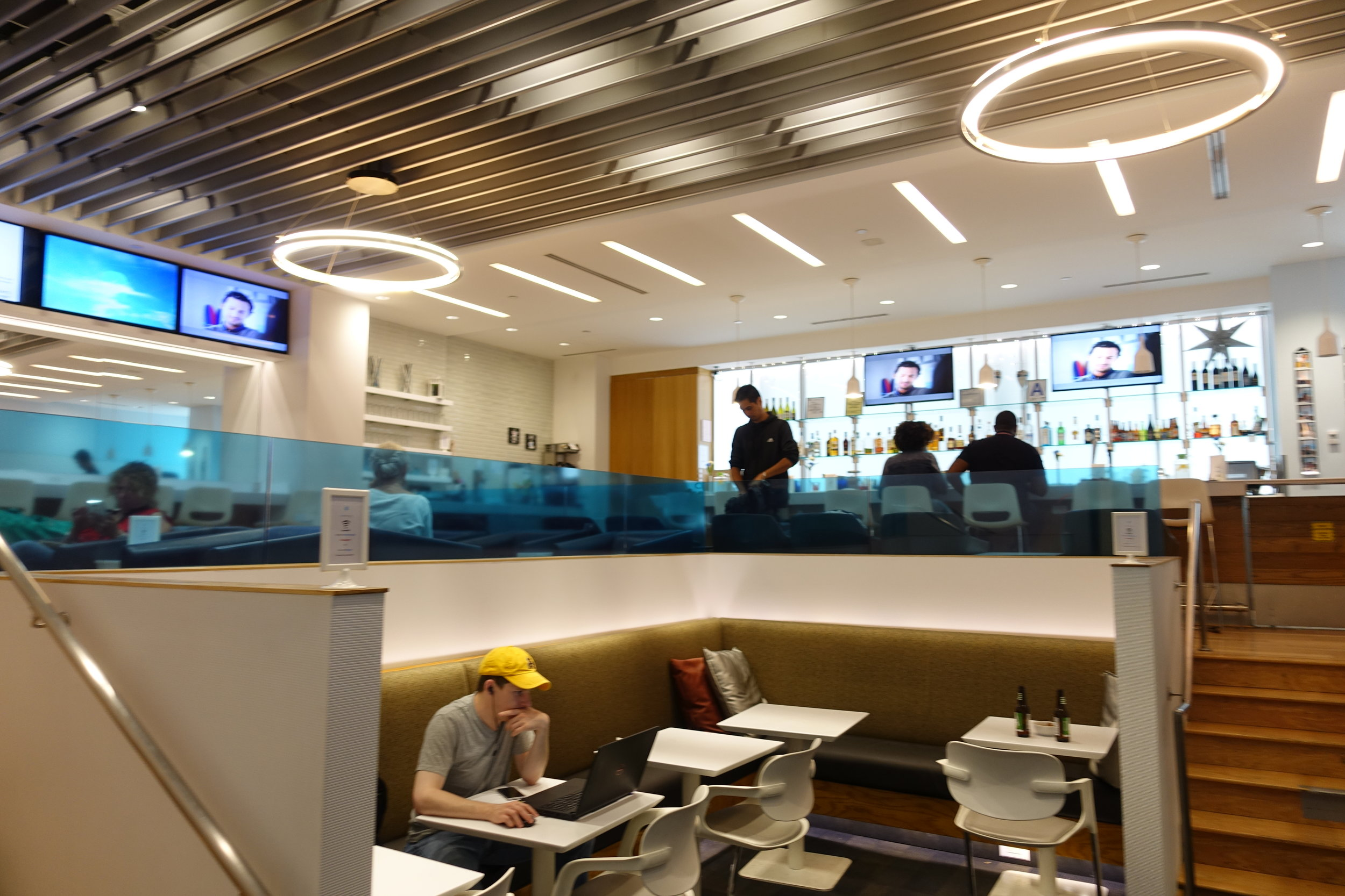 Inside the Airspace Lounge