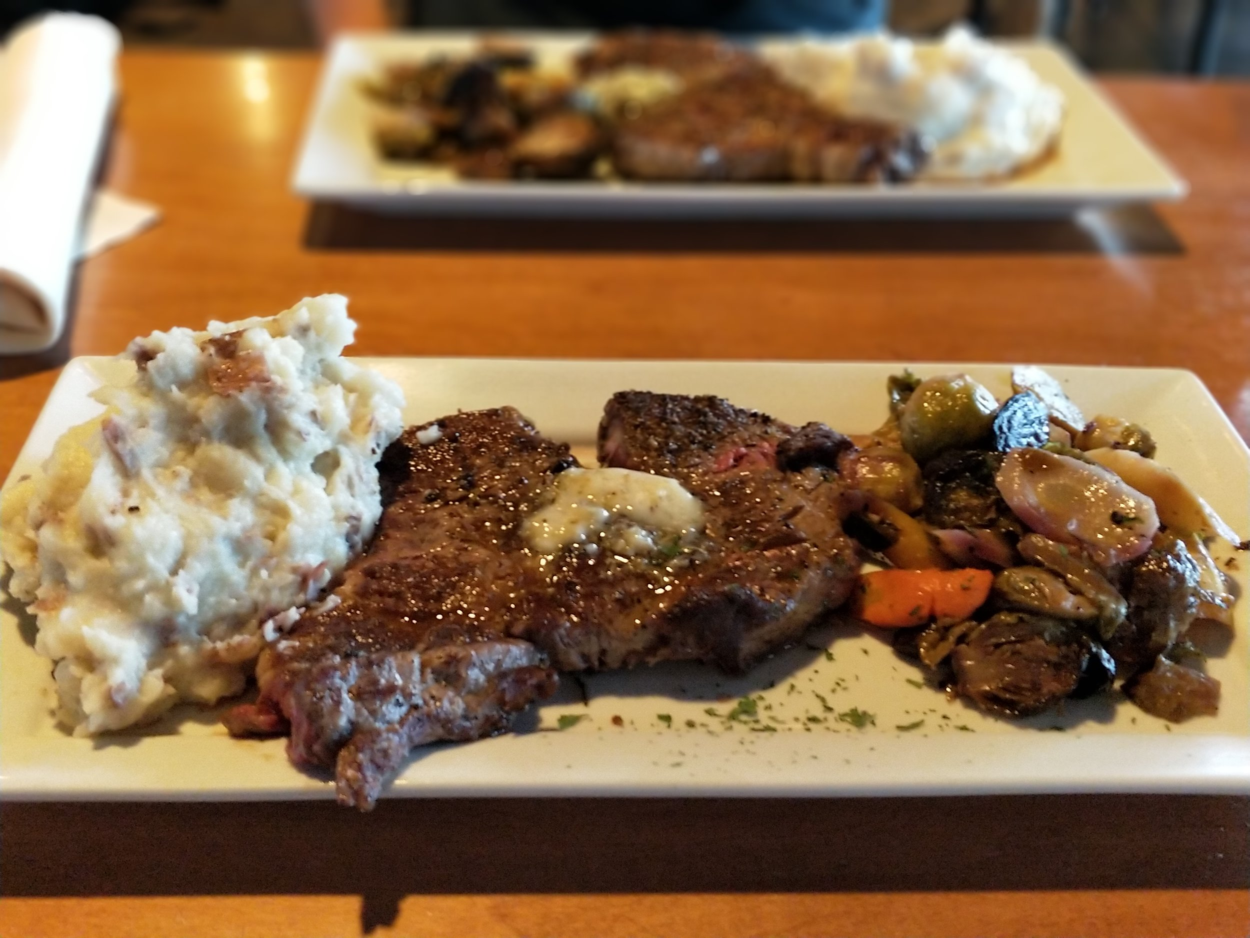 12 oz ribeye steak