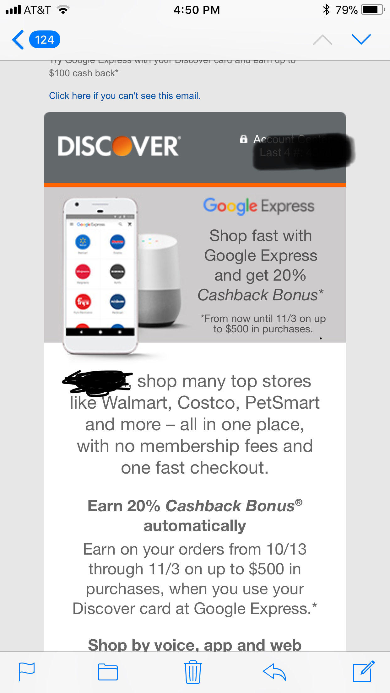 via https://www.reddit.com/r/churning/comments/7681ud/discover_20_cashback_with_google_express_maybe/