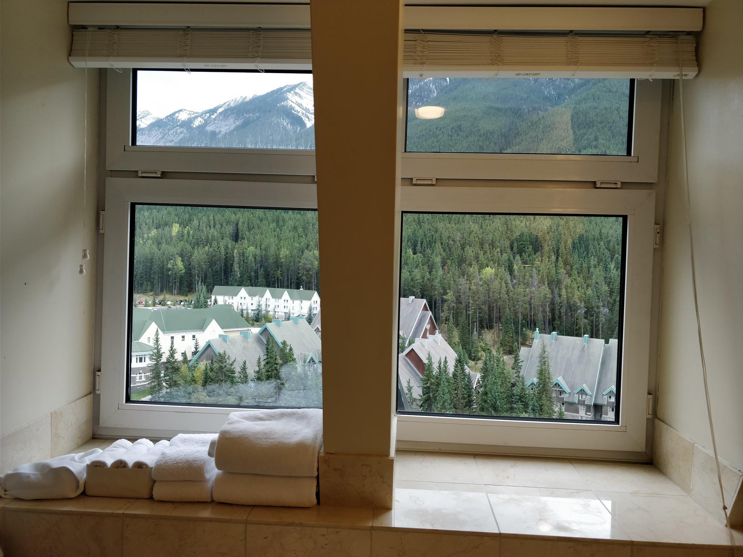 bathroom views