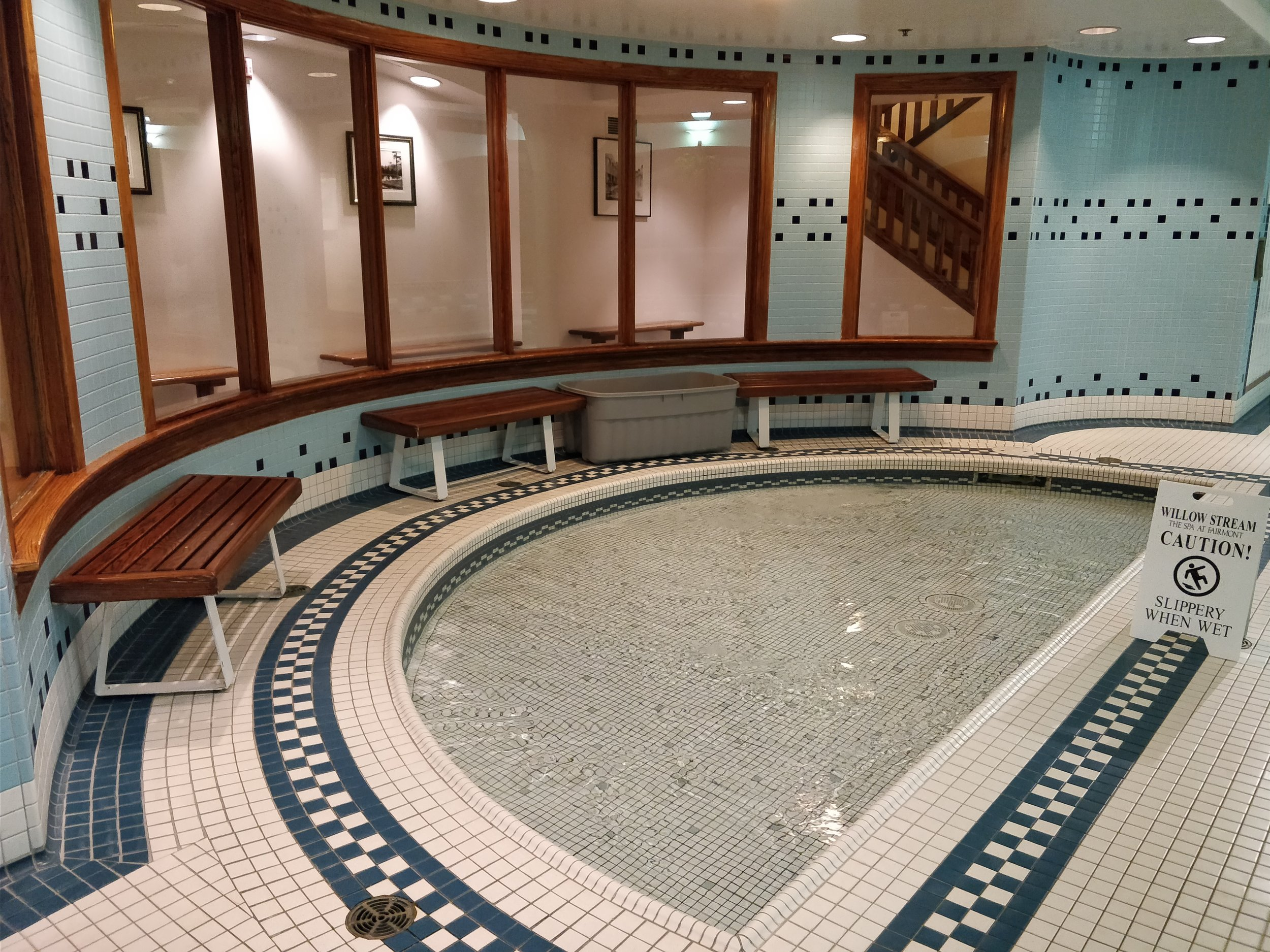 shallow pool