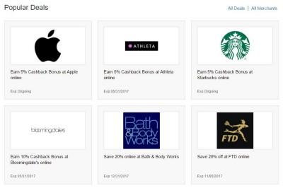 cash back rates via discover portal
