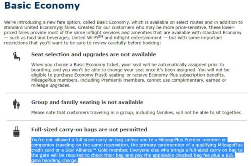 basic economy details