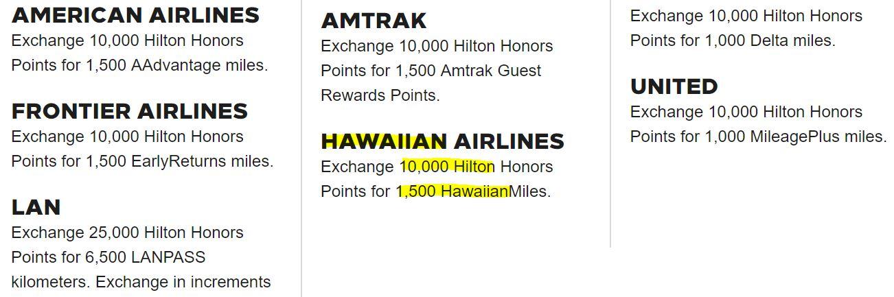 via  http://hiltonhonors3.hilton.com/en/earn-use-points/exchange/airline-rail/index.html