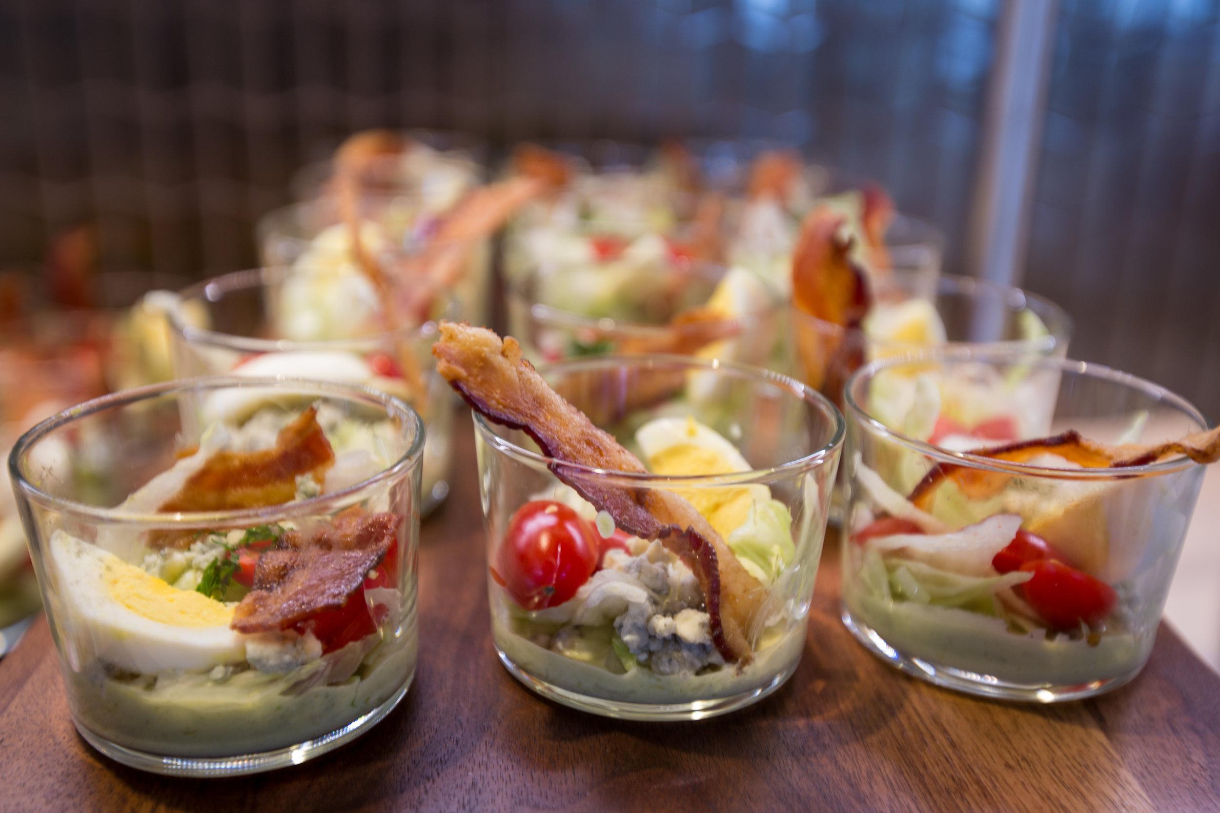 deconstructed cobb salad