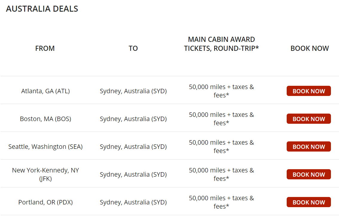 image via  https://www.delta.com/content/www/en_US/shop/deals-and-offers/north-america/skymiles-award-travel-deals.html#aus