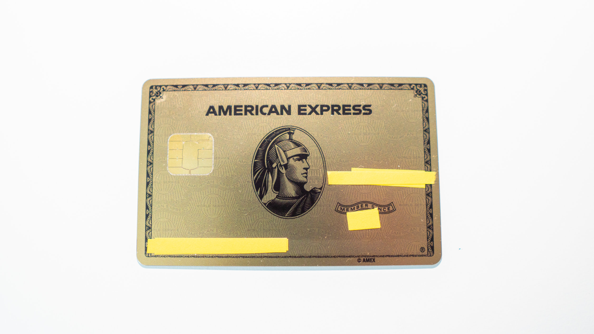 New METAL Amex Gold Card Unboxing and Weighing — AskSebby