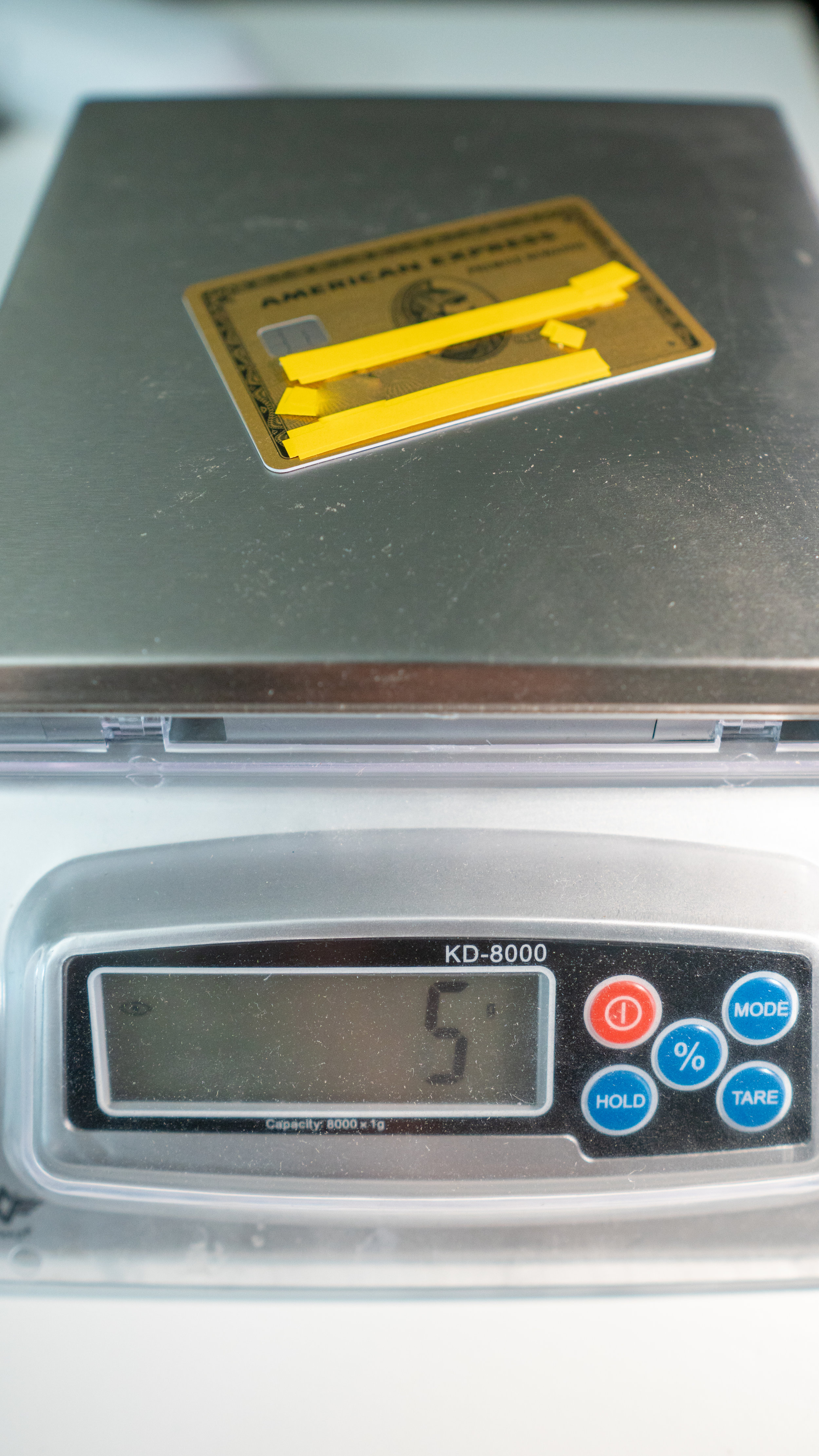 amex prg weight